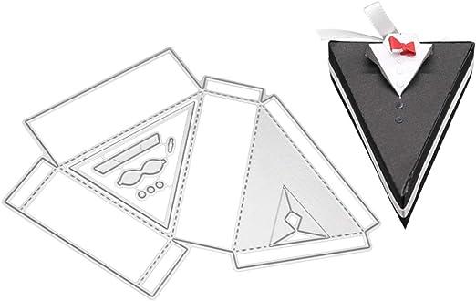 UHAoo - Disfraz 3D de Corbata para bombonera, Corte de Dies ...