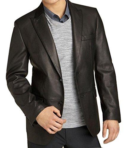 Supple Leather Blazer (Fadcloset Mens Kilroy Lambskin Leather Blazer - Supple Lambskin)
