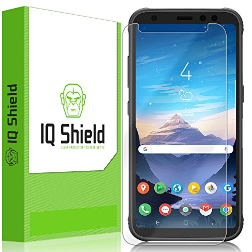 Galaxy S8 Active Screen Protector, IQ Shield LiQuidSkin Full Coverage Screen Protector for Galaxy S8 Active HD Clear Anti-Bubble Film