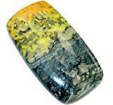 Natural Big Yellow Bumble Bee Jasper 60.5ct Loose Stone from SilverRush Style
