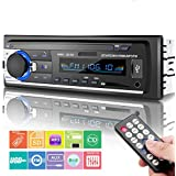 Car Stereo Bluetooth, Huicocy Universal in-Dash Single Din Car Radio Receiver MP3 Player/USB/SD Card/AUX/FM Radio Remote Control