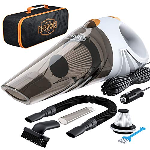ThisWorx for Car Vacuum Cleaner TWC-01 (White) - Accessory Kit Car