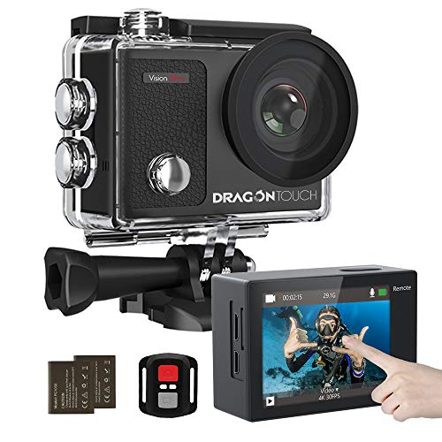Dragon Touch 4K Action Camera Touch Screen