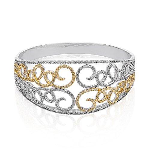 shaze Chic Curves Bracelet|Gift for Her Birthday|Christmas Gift for Her by Shaze