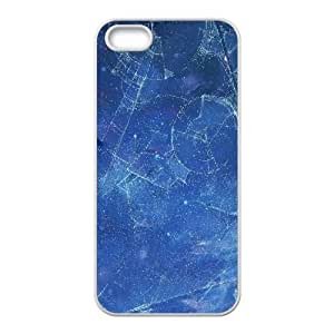 For Ipod Touch 5 Phone Case Cover Night Sky Constellations Drawings Hard Shell Back White For Ipod Touch 5 Phone Case Cover 335968