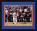 "Framed Mike Piazza New York Mets Autographed 8"" x 10"" Bat Drop Photograph - Fanatics Authentic Certified"