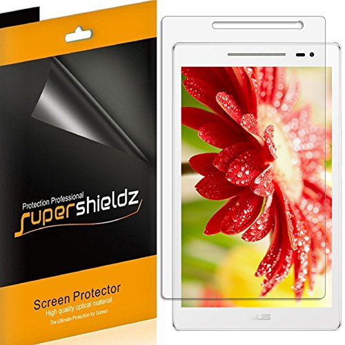[3-Pack] Supershieldz- Anti-Glare & Anti-Fingerprint (Matte) Screen Protector for Asus ZenPad 8 [Z380M] + Lifetime Replacements Warranty- Retail Packaging