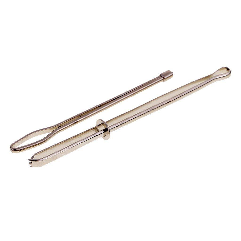 f/ácil de insertar en carcasas herramientas de costura Pinzas de enhebrar de 2 piezas Bodkin para insertar cinta el/ástica