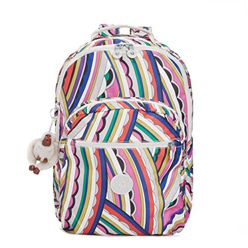 Seoul Prt Backpack, Bright Si De, One Size by Kipling