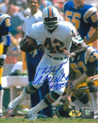 87087678a Image Unavailable. Image not available for. Color  Paul Warfield Signed  Picture - 8x10 HOF 83 - Autographed NFL Photos