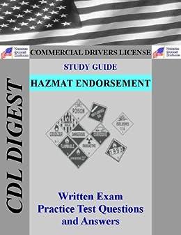 image about Cdl Hazmat Practice Test Printable known as CDL Analysis Expert: Hazmat Endorsement