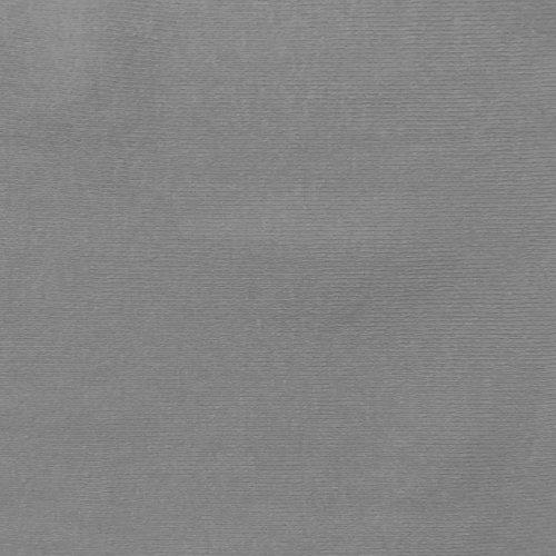 Charcoal Gray 100% Cotton Baby Rib Knit 1x1 Silver 58/60