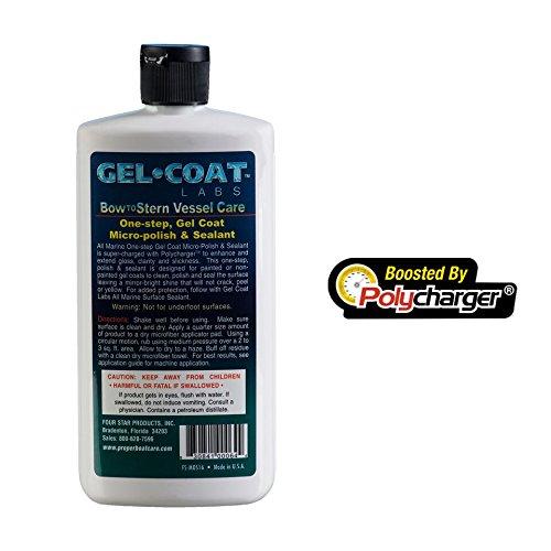 Gel Coat Labs One-Step Gel Coat Micro-Polish & Sealant 16 ozBottle