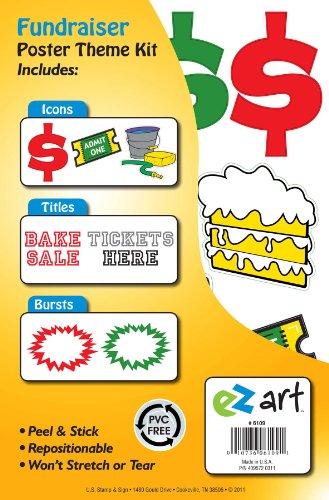Headline Sign 6109 EZ Art Fundraiser Theme Kit for Create-Yo
