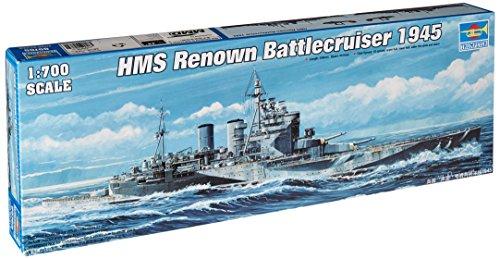 - Trumpeter 1/700 HMS Renown British Battle Cruiser 1945 Model Kit