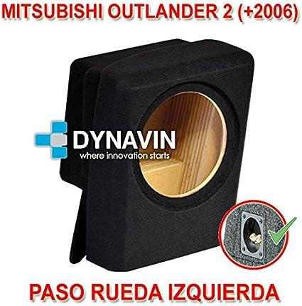 MITSUBISHI OUTLANDER 2 (+2006). IZQ. - CAJA ACUSTICA PARA ...