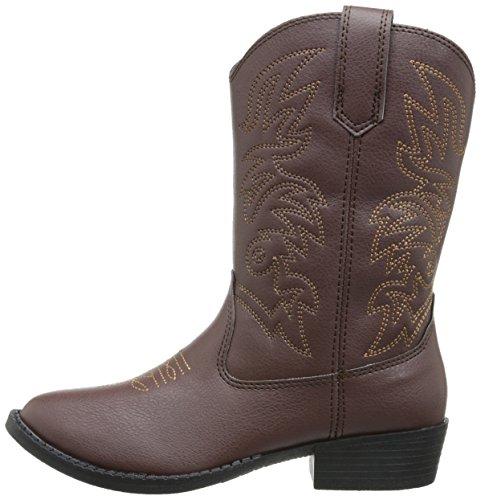 Deer Stags Ranch Kids Cowboy Boot (Toddler/Little Kid/Big Kid), Dark Brown, 12 M US Little Kid by Deer Stags (Image #5)