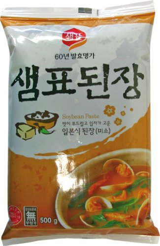 Sempio Miso-Suppenpaste, dunkel, 4er Pack (4 x 500 grams)