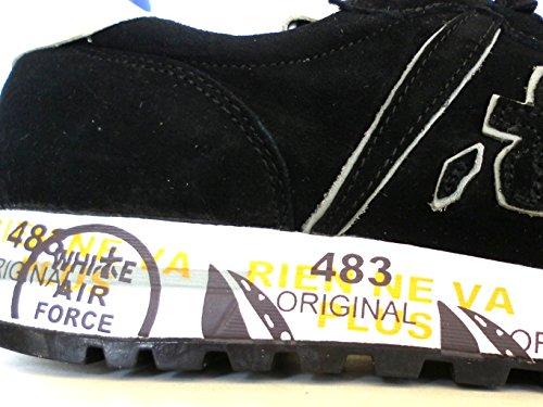 PREMIATA - Botas de senderismo para hombre negro negro 43 negro