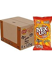 Lay's Mixups Kaas Chips, Doos 9 stuks x 125 g