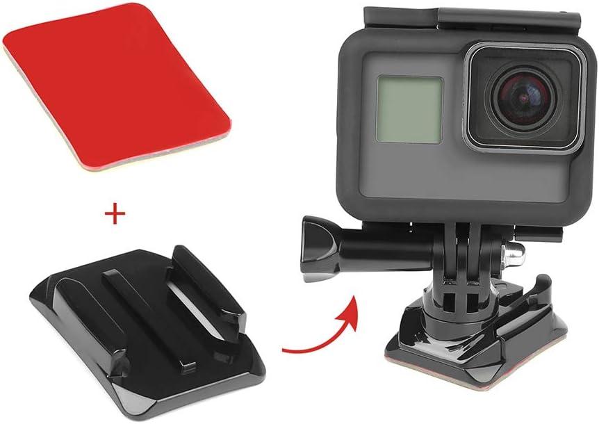 3 Flat and 3 Curved Double Side Adhesive Stickers for GoPro Hero 7 6 5 4 Xiaomi Yi SJCAM sj6 Sony EKEN Nikon Garmin,SOOCOO Camera Surface Helmet Mount