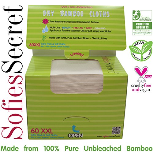 SofiesSecret Unbleached Bamboo Thick Refill product image