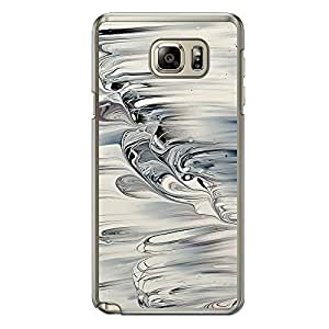 Loud Universe Samsung Galaxy Note 5 Madala N Marble A Random 6 Printed Transparent Edge Case - Silver