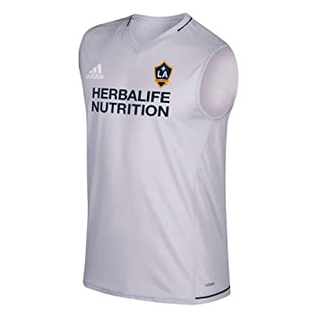 Amazon.com: adidas LA Galaxy MLS Climacool 2017 - Camiseta ...
