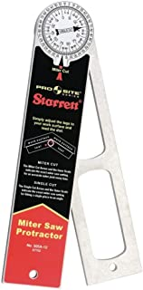 product image for Starrett 505A-12 12 - 300mm Aluminium Miter Protractor by Starrett