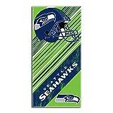 Northwest Seattle Seahawks NFL Beach Towel, Diagonal Series