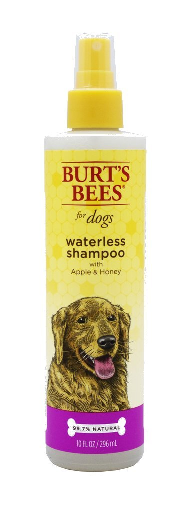Burt's Bees for Dogs Natural Waterless Shampoo Spray with Apple and Honey | Puppy and Dog Spray, 10 Ounces