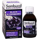 Health & Personal Care : Sambucol Black Elderberry Syrup Original Formula,  7.8 Ounce Bottle