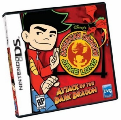 American Dragon Jake Long: Attack of the Dark Dragon - Nintendo DS by Disney Interactive Studios