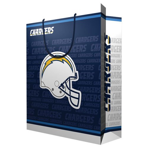 NFL San Diego Chargers Gift Bag, Large