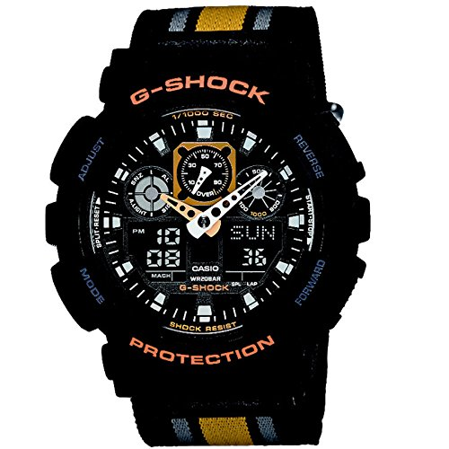 G Shock GA 100MC Cloth Classic Luxury