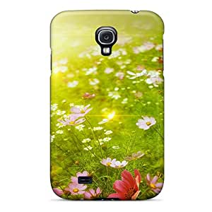 Galaxy S4 XCH19582rkcO Field Of Floral Dreams Tpu Silicone Gel Cases Covers. Fits Galaxy S4