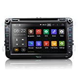 Eonon® GA5153F 8 Inch Car DVD Player GPS Radio Stereo for VW Volkswagen/Skoda/Seat Quad Core Android 4.4.4 Operating System WiFi/3G Bluetooth Touch Screen