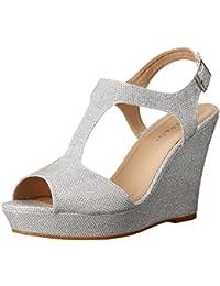 Women's Candelas Platform Ankle Strap Dress Wedge Sandal