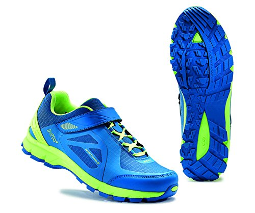 Chaussures Northwave Escape EVO Bleu-Lime 2017