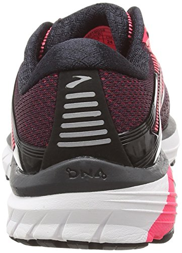 De black black Multicolor Brooks Zapatillas pink Adrenaline 058 Running Para Mujer Gts 18 IAASxw4qv