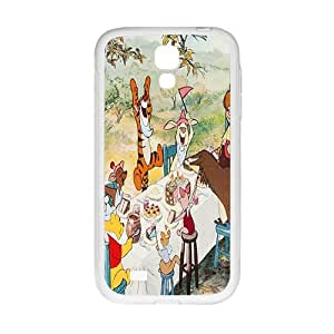 Happy Winnie the pooh Case Cover For samsung galaxy S4 Case