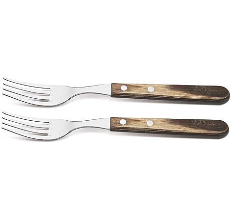 Tramontina Churrasco color marr/ón Juego de 2 cuchillos para carne