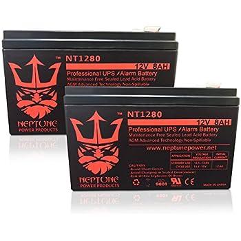 Amazon.com: 12 V 8 Ah APC BACK-UPS CS 350, BK350, bk350i ...
