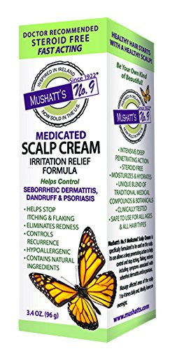 (Mushatt's No. 9 Medicated Scalp Cream, 3.4 Ounce)