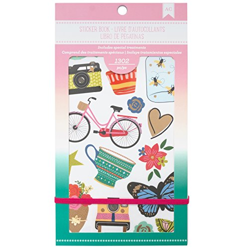 American Crafts 1302 Piece Everyday Sticker Books from American Crafts
