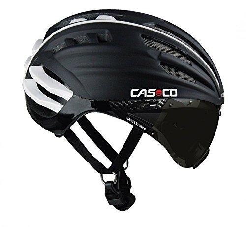 CAZ7Y|#CASCO(カスコ) サイクルヘルメット SPEEDairo Setマスク ブラック 1502 1502 5458  B00FG5D3IU