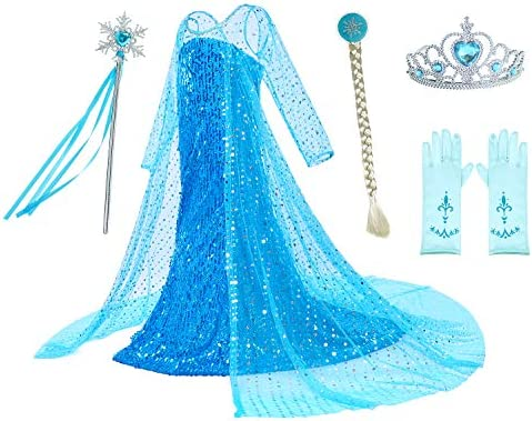 Princess Costumes Shining Birthday Party product image