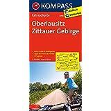 Oberlausitz - Zittauer Gebirge: Fahrradkarte. GPS-genau. 1:70000 (KOMPASS-Fahrradkarten Deutschland, Band 3086)
