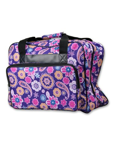 Best Price! Janome Universal Purple Sewing Machine Tote, Canvas