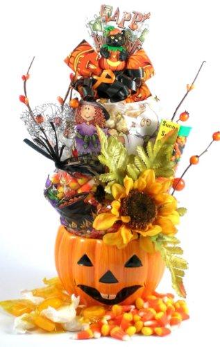 Jack-O' Lantern: Fall Gift Basket